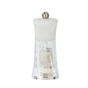 Moulin à sel humide blanc Molène 14 cm Peugeot