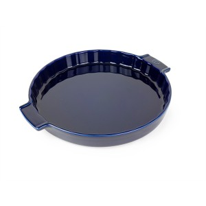 Moule à tarte céramique bleu 30 cm Peugeot