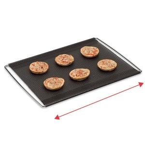 Grille de cuisson extensible avec feuille perforée anti-adhérente 41 à 49 cm