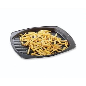 Plat à frites perforé anti-adhérent 39 cm