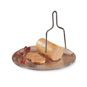 Lyre à foie gras en inox