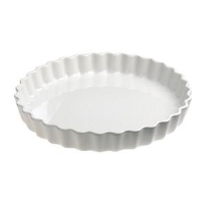 Tourtière porcelaine ronde 30 cm  Grands classiques  blanc Revol