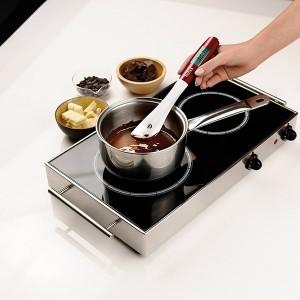 Spatule-cuillère thermosonde spécial induction
