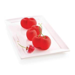 Moule silicone 6 mini gâteaux Rosso Ciliegia Silikomart