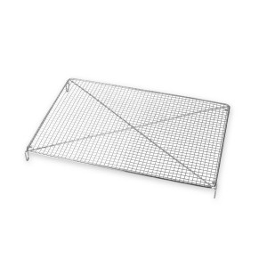 Volette rectangulaire inox 30,5 x 22 cm