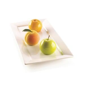 Moule silicone 3D 6 mini gâteaux fruits Silikomart