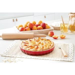 Moule à tarte en céramique 24 cm rouge Mathon