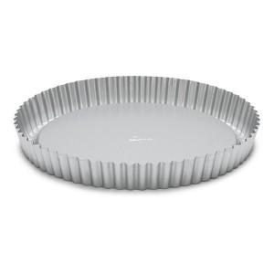 Moule à tarte acier revêtu antiadhérent 28 cm Patisse