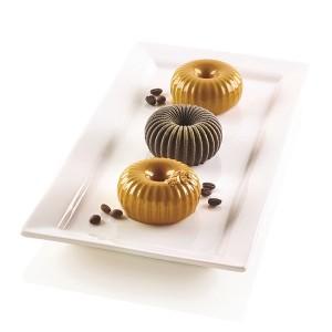 Moule silicone 6 mini gâteaux Mini Raggio Silikomart