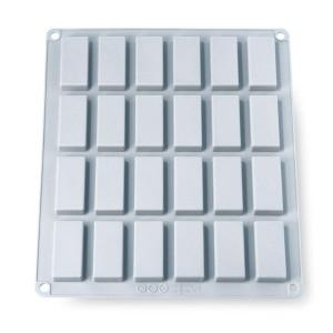 Grande Flexi'Plaque silicone 24 mini-financiers Mathon