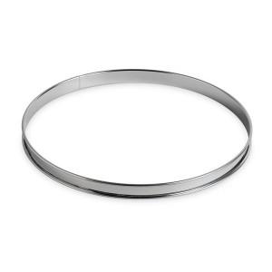 Cercle à tarte inox 28 cm Gobel