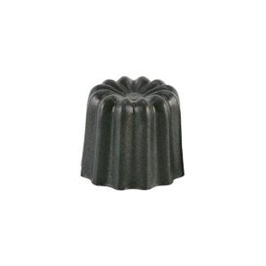 3 moules cannelés à Canelés en aluminium anti-adhésif 5,5 cm