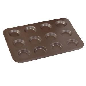 Plaque anti-adhérente 12 mini-tartelettes Gobel