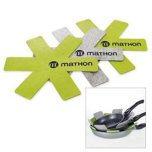 3 feutrines de protection pour poêles Mathon