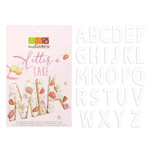 Kit Letter cake - 26 lettres Scrapcooking