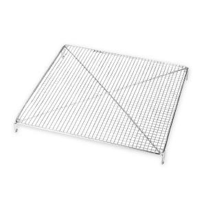 Volette carrée inox 26 cm