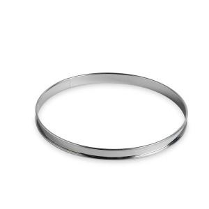 Cercle à tarte inox 24 cm Gobel