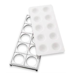 Plaque 10 raviolis carrés