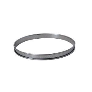 Cercle à tartelette inox perforé 6 cm De Buyer