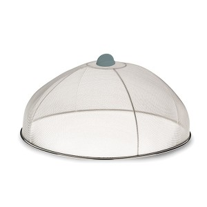 Cloche couvre-plat Cara inox 30 cm