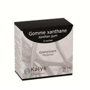 10 sachets de gomme xanthane Kalys