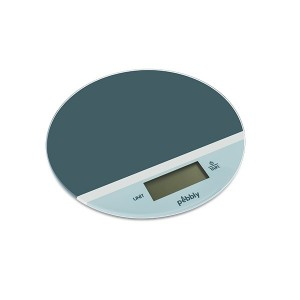 Balance ronde vert bleu 19 cm Pebbly