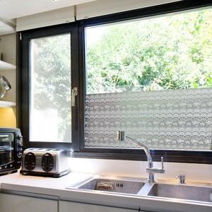 Film pour fenêtre décor dentelle