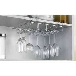 Porte-verres pour placard ou étagère