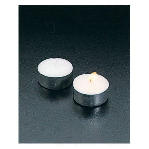 6 bougies chauffe-plat 3,7 cm