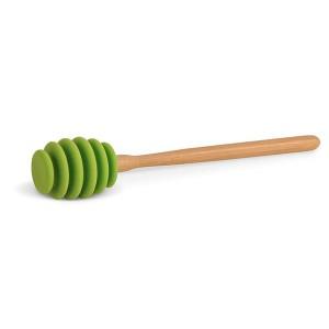 Cuillère à miel silicone et bambou DM Creation
