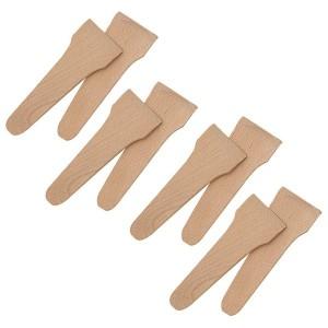 Set 8 spatules à raclette en bois de hêtre