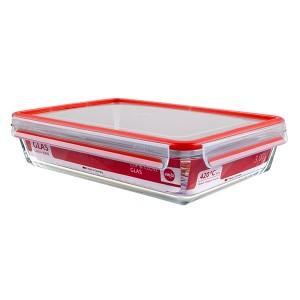 CLIP&CLOSE boîte alimentaire en verre - 3L Emsa