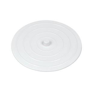 Bouche-évier caoutchouc 10,5 cm