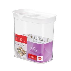 Boîte verseuse avec couvercle OPTIMA 1,6L Emsa