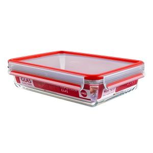 CLIP&CLOSE boîte alimentaire en verre 2L Emsa