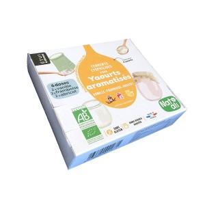 Préparation en poudre pour yaourts aromatisés Vanille   Framboise   Abricot