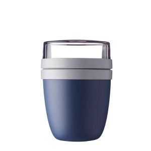 Pot à déjeuner ellipse bleu glacé 700 ml Mepal