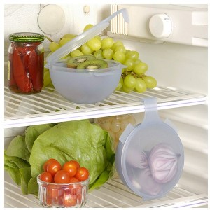 2 mini-boites pour réfrigérateur à suspendre