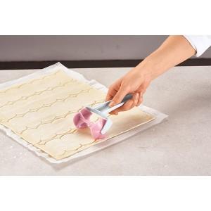 Roulette à gâteaux forme rose Betty Bossi