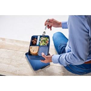 Boîte à déjeuner bento large bleu glacé Mepal