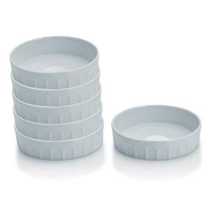 6 coupelles en porcelaine 12 cm