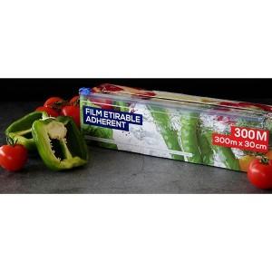 Rouleau film étirable alimentaire 300 m x 30 cm