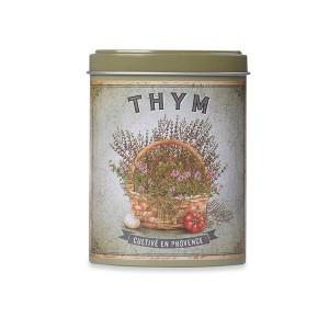 Thym de Provence avec boite verseuse en métal 20 gr