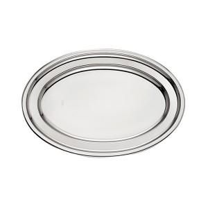 Plat ovale en inox England 40 cm