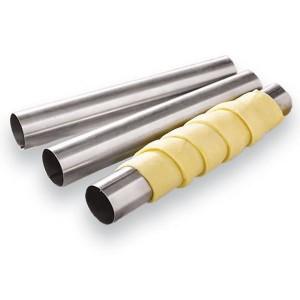 6 tubes en inox 10 cm Ard'Time