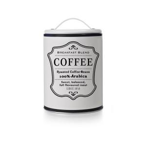 Pot de conservation café blanc avec poignée Ibili