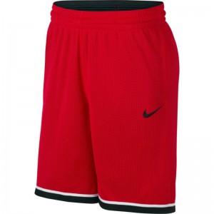 Short de Basketball Nike Dri-FIT Classic Rouge pour Homme