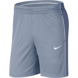 Short de Basketball Nike Dri-FIT bleu pour Femme