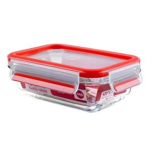 CLIP&CLOSE boîte alimentaire en verre - 500ml Emsa