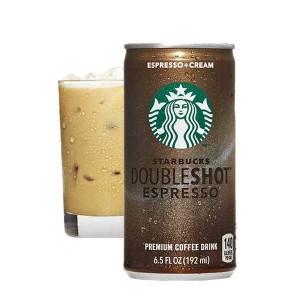Starbucks café frappé Double shot espresso and Cream - Canette 200ml